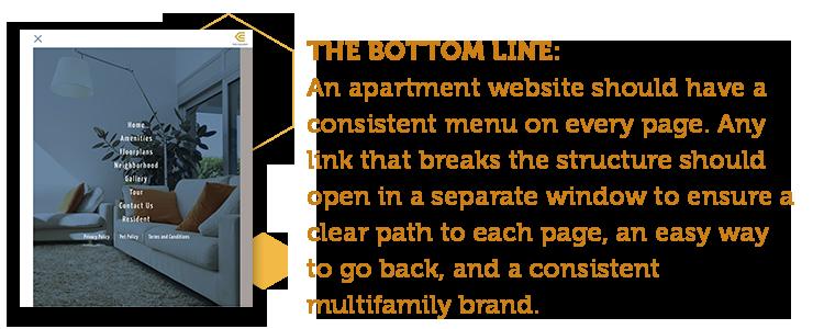 5 keys to apartment website designs