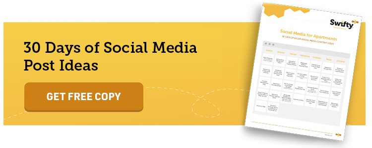 Social Media for Apartments: 30 Days of Social Media Post Ideas for Apartments and Multifamily Marketing